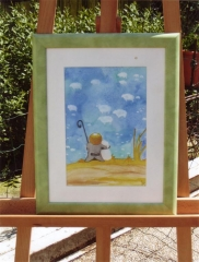 Petit berger-aquarelle 1