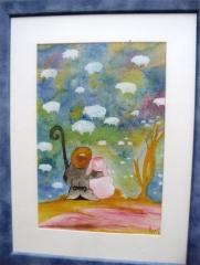 Petit berger-aquarelle 2
