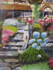 cottage-normand-aquarelle-2