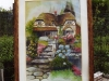 Cottage normand-aquarelle